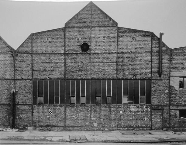 Industrial Facade: Friedrich-Wilhelm-hutte, Muhlheim/Ruhr, D, 1991
