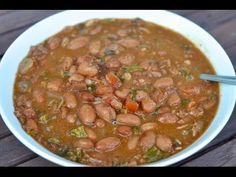Traditional Frijoles Charros / Cowboy Beans recipe, ,