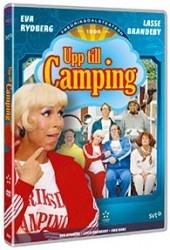 Recension av Upp Till Camping. Föreställning från Fredriksdalsteatern med Eva Rydberg och Lasse Brandeby.