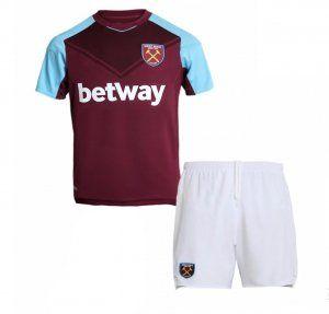 Kids West Ham United 2017-18 Season Home Hammers Kit [K625]