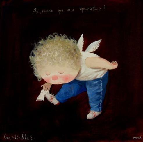 Cute paintings by the Ukrainian artist Evgenia Gapchinska (35 pics) - Izismile.com