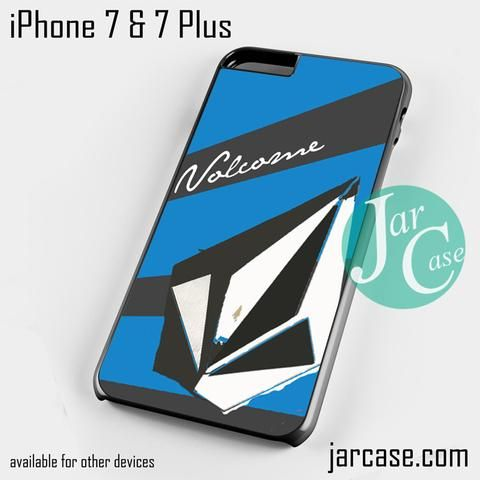 volcom blue Phone case for iPhone 7 and 7 Plus