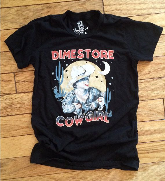 Dime Store Cowgirl Kacey Musgraves Dimestore Tee Shirt by RockinB