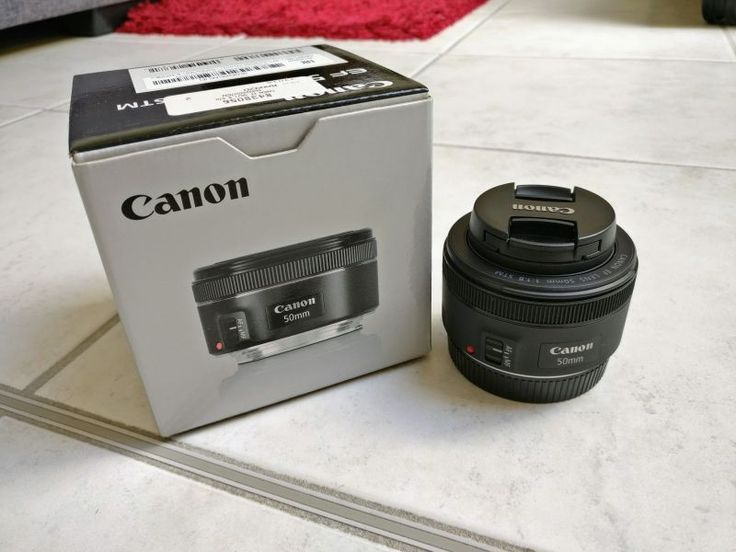 Objectif Canon 50mm f/1.8 STM