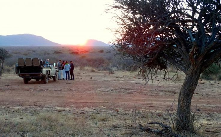 Memorable sundowner moments - Madikwe Game Reserve, South Africa