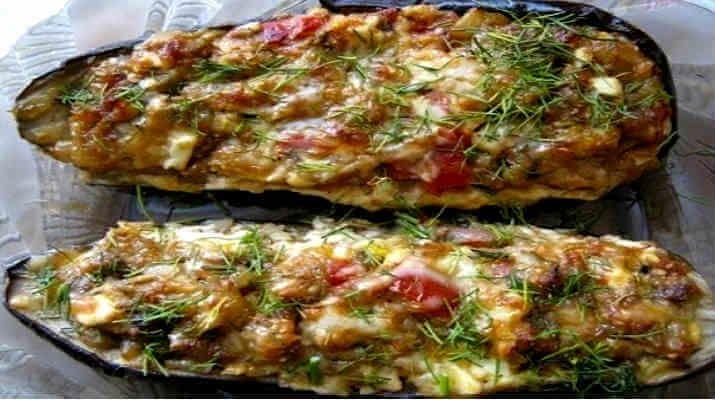 Баклажаны, фаршированные овощами. Лучшие рецепты для вас на сайте «Люблю готовить»