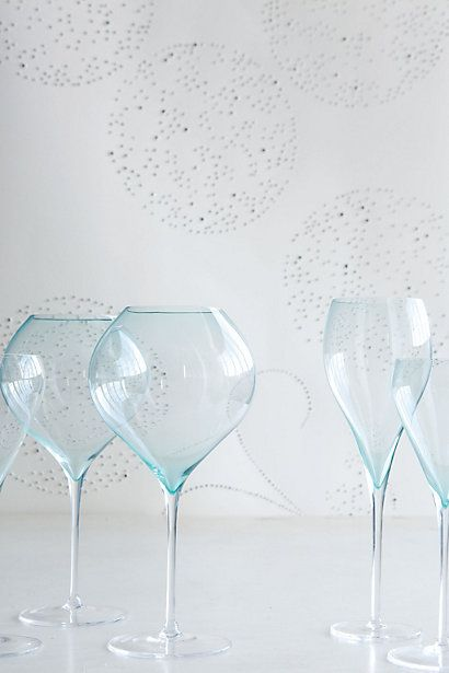 Wine Glass / Anthropologie