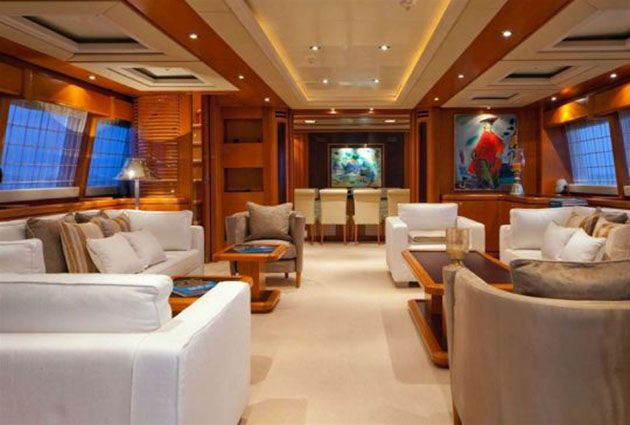 Ariela, a luxury motor yacht for rent, by Barbaros Yachting.