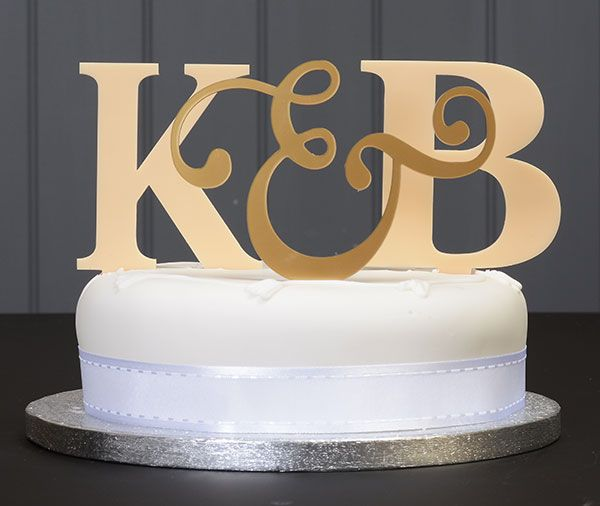 Handmade personalised wedding cake topper available to order from my Etsy page!
