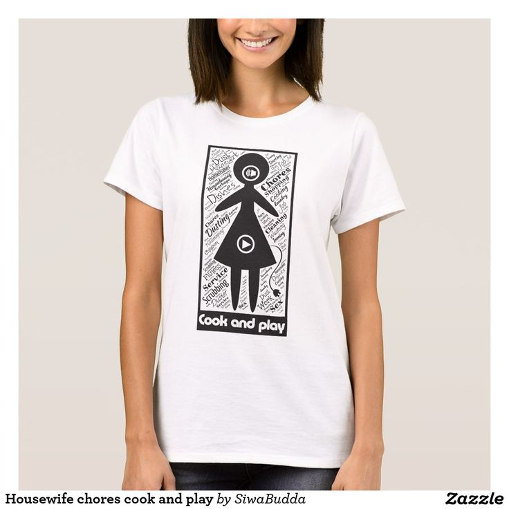 Housewife chores cook and play T-Shirt