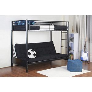 alcove Akia Twin/Full Futon Bunk Bed