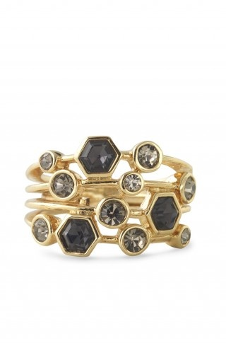 Want!Stackable Rings, Fashion, Gem Rings, Dots Stackable, Dots Jewelry, Stella Dots, Stackable Gem, Black Diamonds, Gemstones Rings