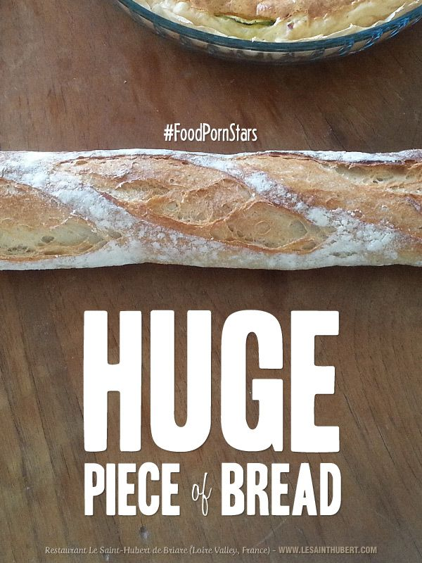 """""""Huge pieace of Bread"""". A new way to consume FoodPorn pictures. #FoodPorn #FoodPornStars #Bread. © Francois Soulignac"""