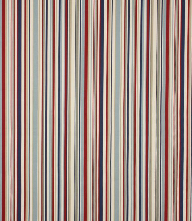 Funky Stripe Fabric / Blue | Just Fabrics