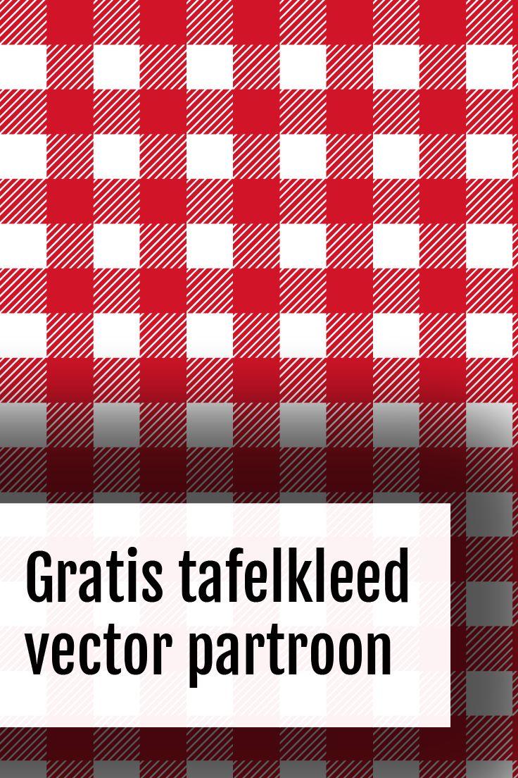 Picknick tafelkleed patroon vector tekening   Johan Meulenkamp