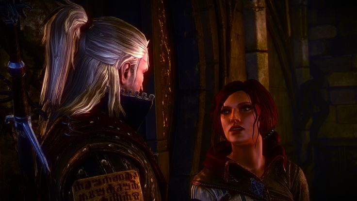 Witcher 2 Flotsamwald Triss Merigold sex scene