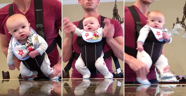 "Dad Dancing His Baby to ""Beat It"" Is Priceless 