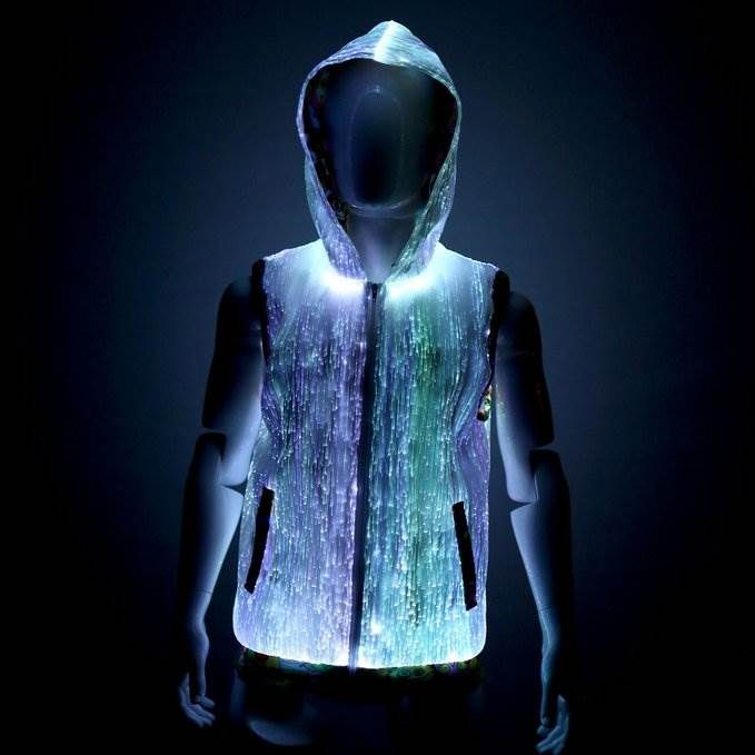 LED Rave Hoodie for Guys