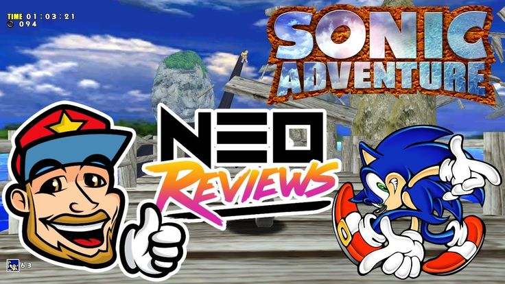 A Review of Sonic Adventure - http://www.youtube.com/watch?v=ftLZpsD1L4U  https://www.sonicretro.org/2017/04/review-sonic-adventure/