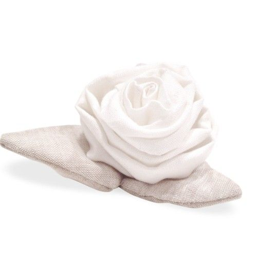 Sweet Handmade Linen Rose