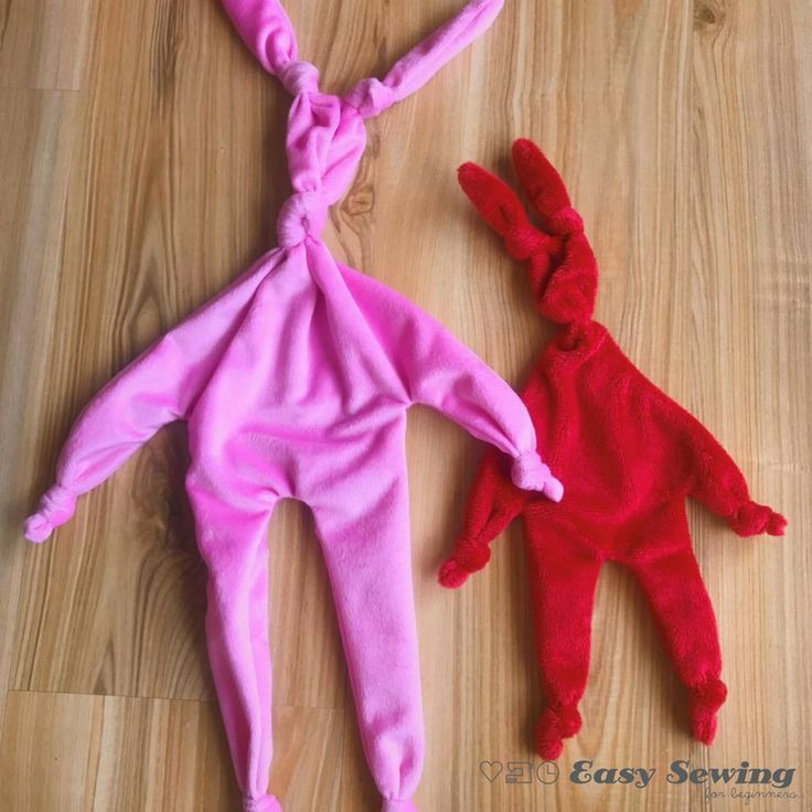 78 best easter sewing projects images on pinterest easter crafts knot bunny baby lovey negle Choice Image