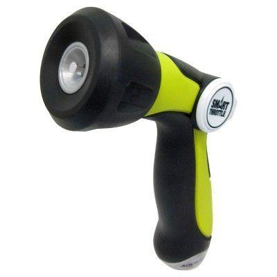 Sun Joe 2pk Aqua Joe Smart Throttle High Pressure Hose Nozzle - Orange/Green