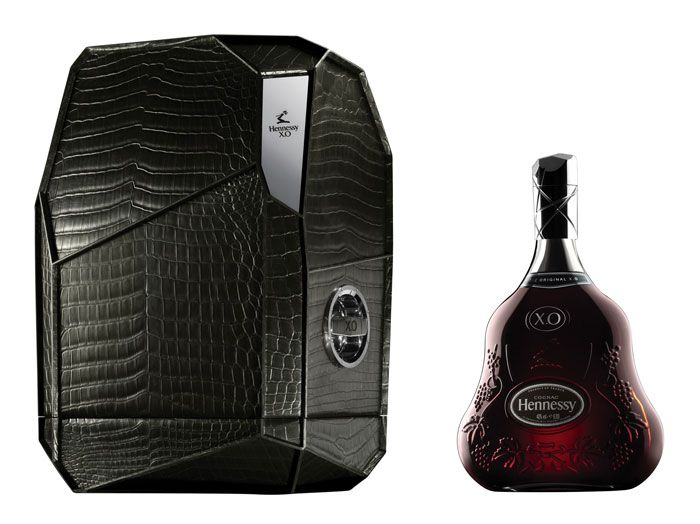 Hennessy X.O Mathusalem packaging design designed and inspired by Arik Levy's The Rock