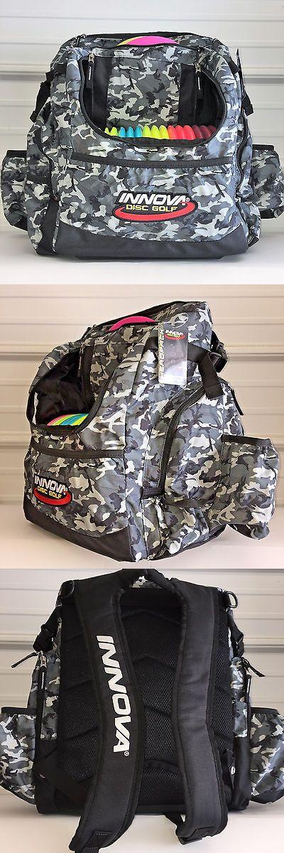 Disc Golf 20851: Wingz Disc Golf * Brand New Innova Hero Pack * Backpack * Black Bag * 25+ Discs BUY IT NOW ONLY: $79.95