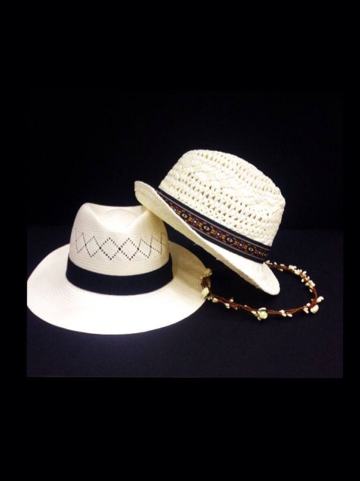 Hats by Miss Accessories  #greece #karditsa #accessories #hats #panama #summer #white #boho #style #hair #women