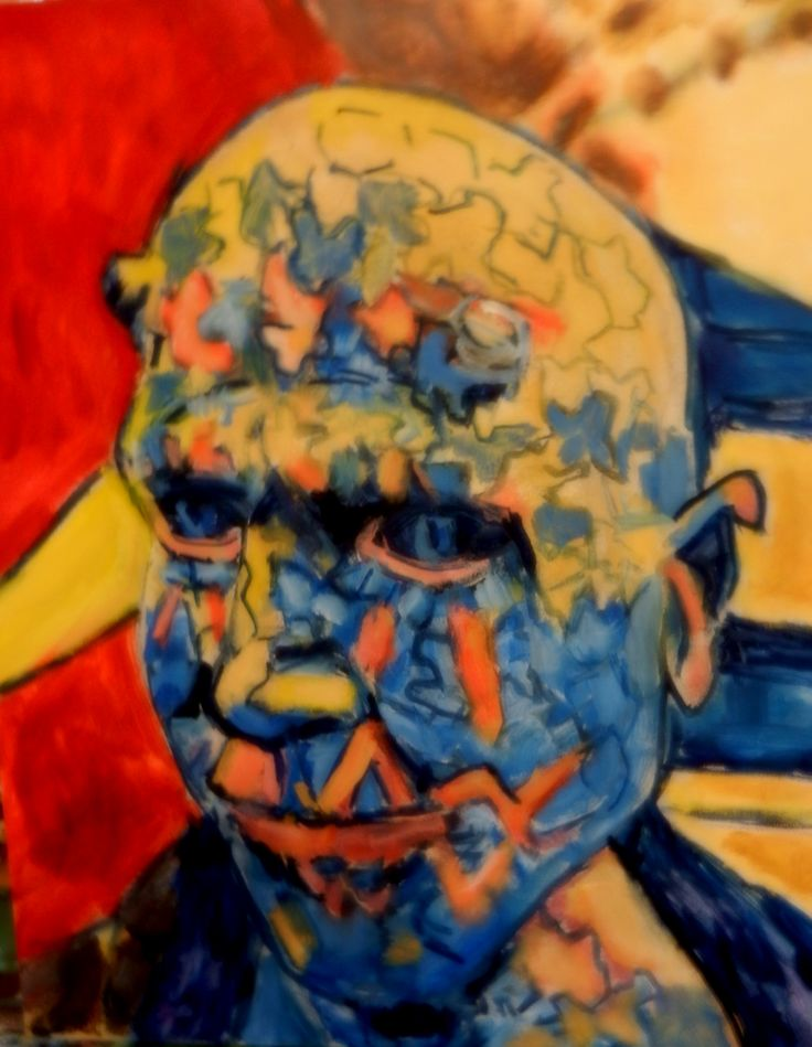 Portrait of Enigma--Oil painting 2016