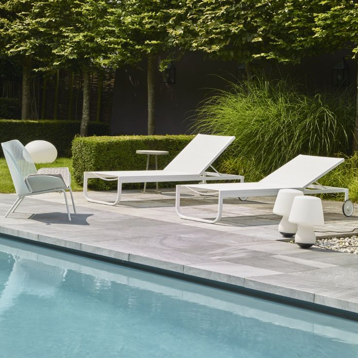 amazing inspiration ideas sun loungers. LETTINO  Armchairs The Lettino sun lounger associates the elegant minimalism of its white lacquered steel and aluminum both catapho 17 best Outdoor Entertaining Inspiration images on Pinterest Ligne