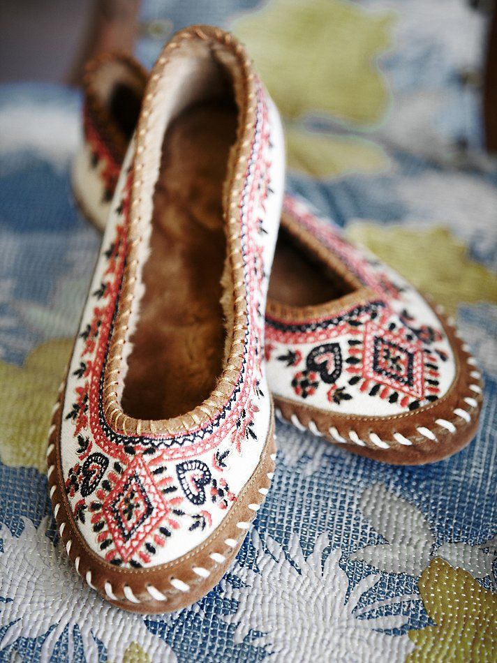 Free People Bohemia Ballet Slipper at Free People Clothing Boutique » These are…