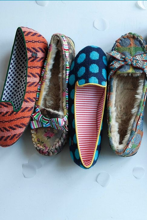 anthropologie slippers...i want the one on the left!