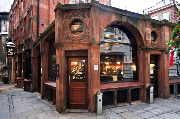 The Jamaica Wine House, St Michael's Alley, London EC3V 9DS