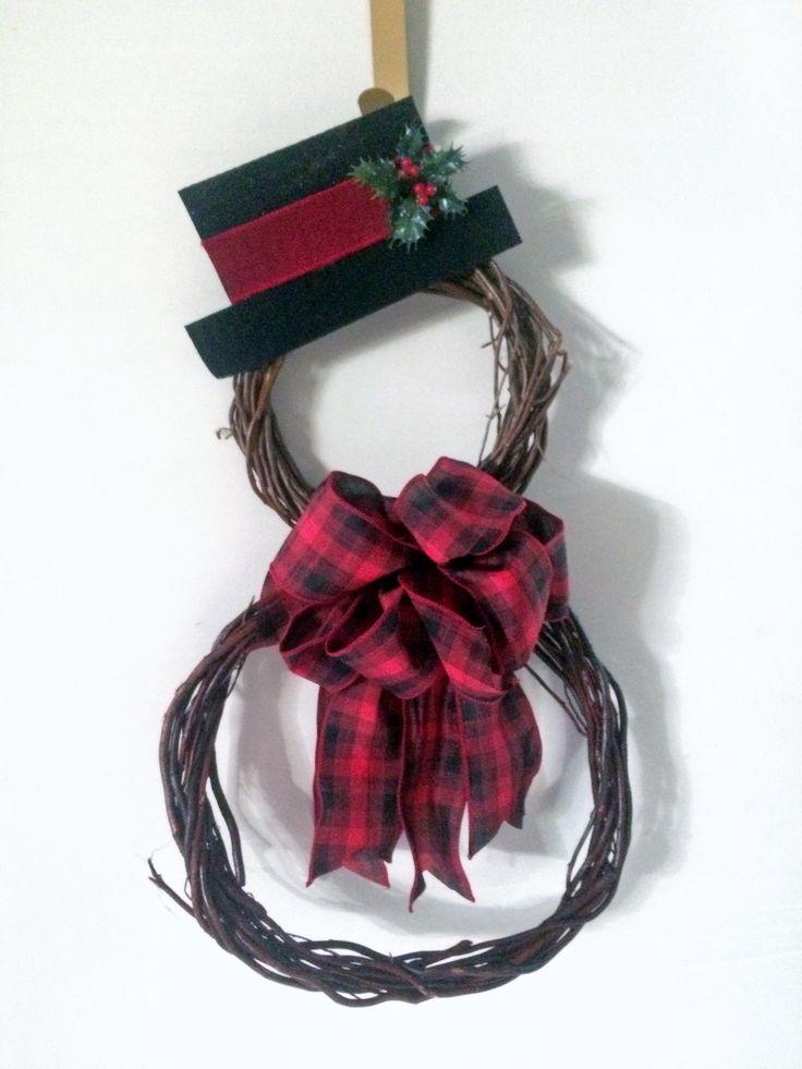 Vine Wreath | DIY Dollar Store Christmas Decorations Ideas