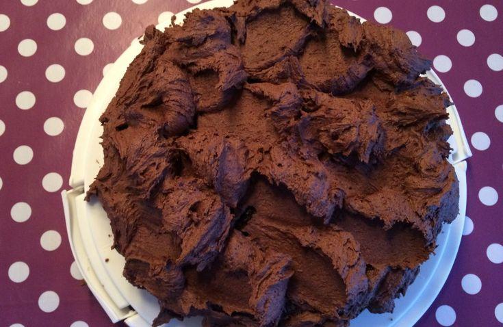 Sjokoladekrem til kaker og cupkakes