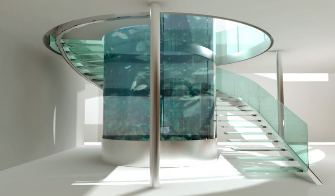 The 20 Most Lavish Home Aquariums In The World Home Stairs