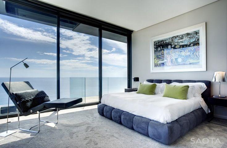 bedroom view - Nettleton 195 House by SAOTA and Antoni Associates