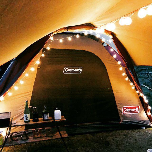 タフドーム テント コールマン テント キャンプ 女子 コールマン テント