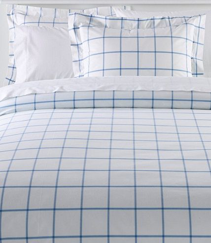 280 Thread Count Pima Cotton Percale Comforter Cover Collection Windowpane Comforter Cover Duvet Bedding Sets Cool Comforters