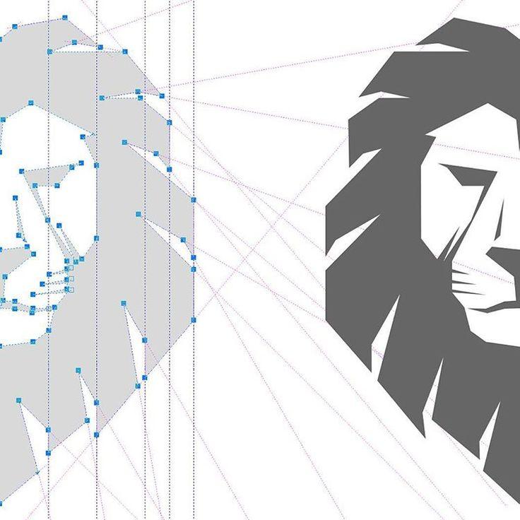 Logo geometry #logodesigner #logotipo  #лого #customlogo #графическийдизайн…