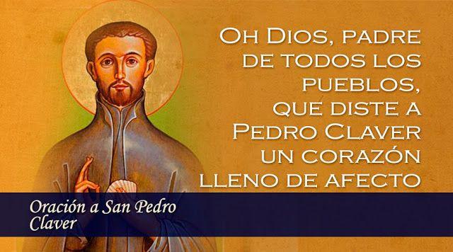 SANTORAL CATOLICO: ORACIONES A SAN PEDRO CLAVER