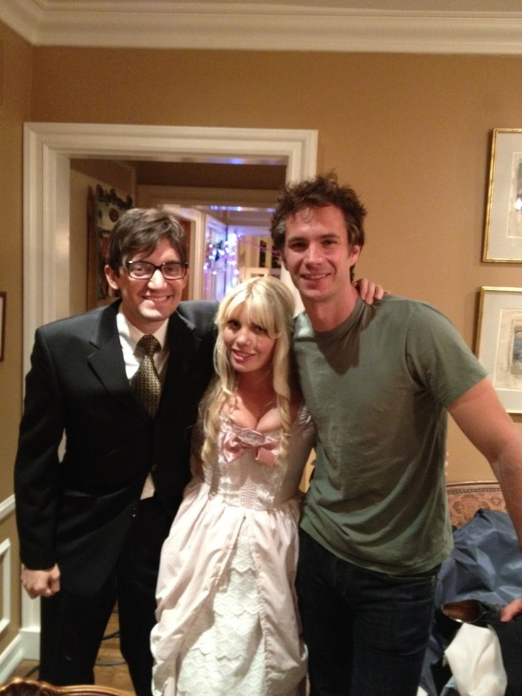 James with Jackson Stewart and Emma Jacobs  --  many thanks to @bossjacko  - June 25, 2012 Los Angeles