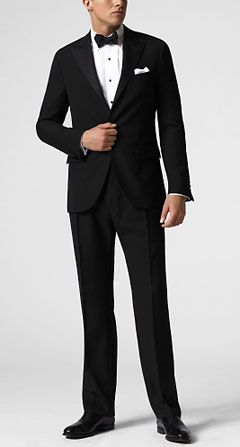 I want the guys to be in James Bond tuxes