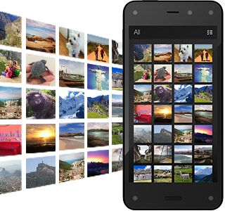 Amazon Fire Phone - 13MP Camera, 32GB - Shop Now Get free, unlimited Cloud Drive storage for all photos taken with Fire phone (in full resolution). No more worrying about what to delete.
