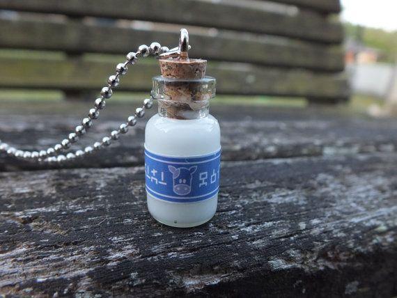 Miniature Legend of Zelda Lon Lon Milk Bottle by GeekOUTlet, $9.00