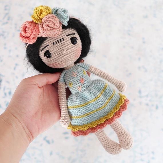 Lalaloopsy Alice crocheted | Fazer croche, Crochê bonito e Bonecas ... | 570x570
