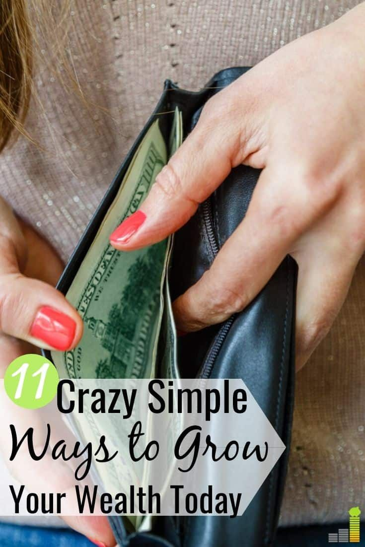 11 Super Simple Money Moves To Grow Your Wealth In 2021 Money Saving Tips Personal Finance Organization How To Get Rich