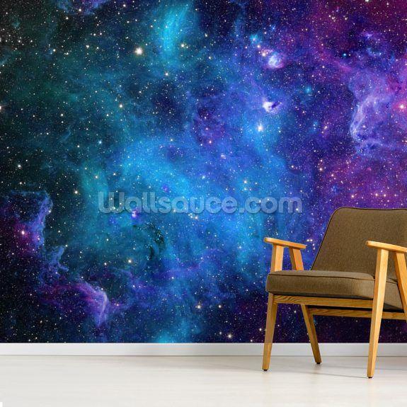 Galaxy Wallpaper Wallsauce Uk Galaxy Wallpaper Wallpaper Design For Bedroom Deep Blue Decor