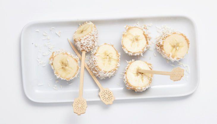 Bananen-Kokos-Sushi